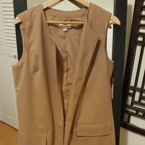 Merona Sleeveless Vest Trench